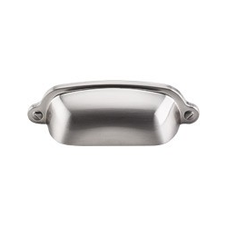 "Cup Pull 2 9/16"" Satin Nickel"