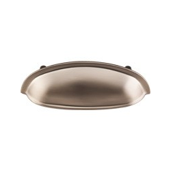 "Somerset Cup Pull 3"" Brushed Bronze"