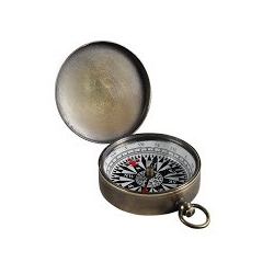 Small Compass, Bronze