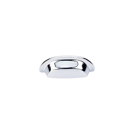 "Aspen Cup Pull 3"" Polished Chrome"