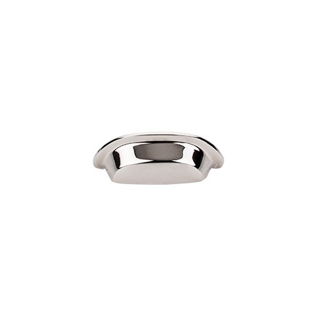 """Aspen Cup Pull 3"""" Polished Nickel"""