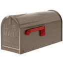 Quality Taupe Medium Size Mailbox