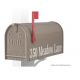 Quality Blue Medium Size Mailbox