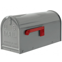 Quality Grey Medium Size Mailbox
