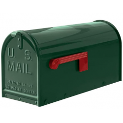 Quality Green Medium Size Mailbox
