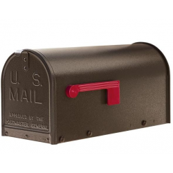 Quality Textured Bronze  Medium Size Mailbox