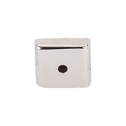 """Aspen Square Backplate 7/8"""" Polished Nickel"""