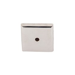 """Aspen Square Backplate 1.25"""" Polished Nickel"""