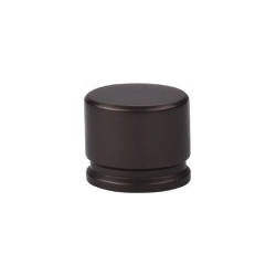 """Oval Knob Large 1 3/8"""" Oil Rubbed Bronze"""