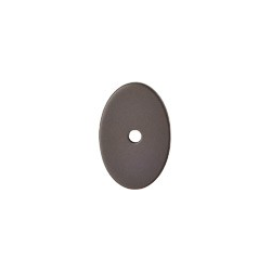 """Oval Backplate 1 1/4"""" Oil Rubbed Bronze"""