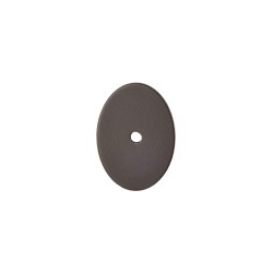 """Oval Backplate 1.75"""" Large Oil Rubbed Bronze"""