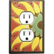 Sunflower Outlet Switch Plate
