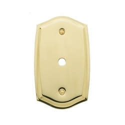 Polished Brass Switch Plate Cable