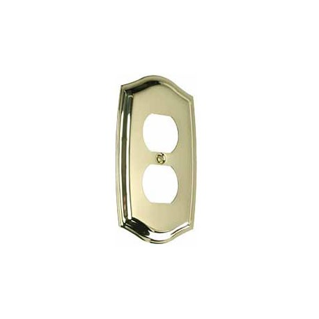 Polished Brass Switch Plate Outlet