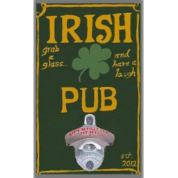Irish Pub Bottle Opener