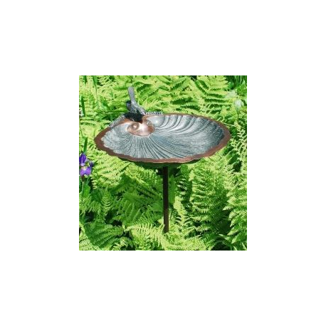 Scallop Shell Bird Bath