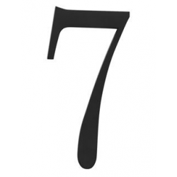 Traditional House Number 7- Six Inch