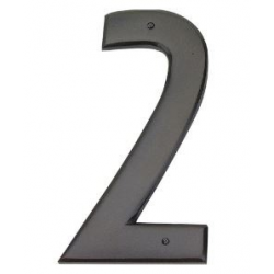 Mission Style House Number - 2