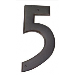 Mission Style House Number - 5