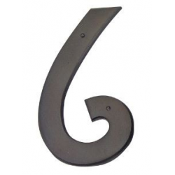 Mission Style House Number -6