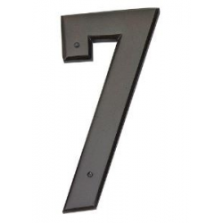 Mission Style House Number - 7