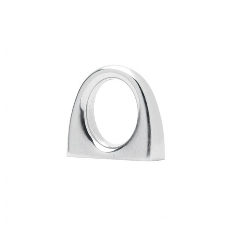 Ring Pull in Satin Nickel