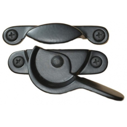 Black Window Sash Lock