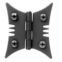 Butterfly Cabinet Hinge Black Finish