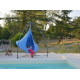 Double Cacoon Hanging Chair Sky Blue