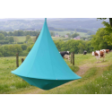Double Cacoon Hanging Chair Turquoise