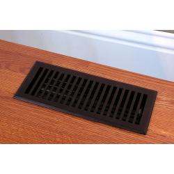 Contemporary Iron Floor Vent