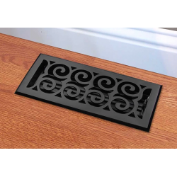 Legacy Scroll Cast Iron Floor Vent