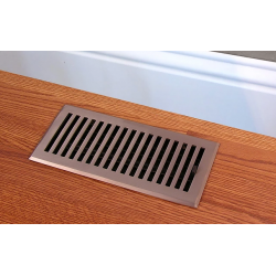 Contemporary Brass Floor Vents