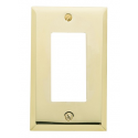 Polished Brass Beveled Edge GFI