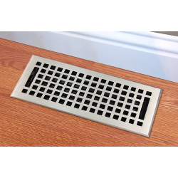 Mission Cast Brass Floor Vent