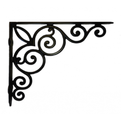 Vintage Scroll Shelf Bracket