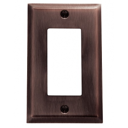 Venetian Bronze Beveled Edge GFI
