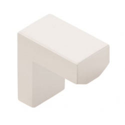 Modern Finger Knob Satin Nickel