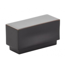 Modern Rectangular Knob Oil Rubbed Bronze