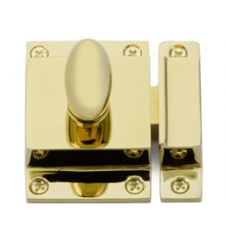 Cabinet Latch Polished Brass