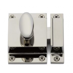 Cabinet Latch Polished Nickel