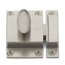 Cabinet Latch Satin Nickel