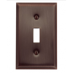 Venetian Bronze Beveled Edge Single Toggle