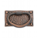 Hammered Oval Pull in Oil Rubbed Bronze