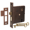 Interior Skeleton Key Lock - 3 Finshes
