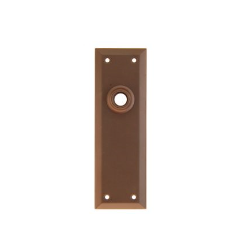 Period Door Plate - 3 Finishes