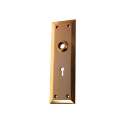 Skeleton Key Door Plates - 3 Finishes