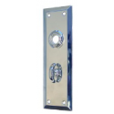 Turn Knob Door Plate - 3 Finishes