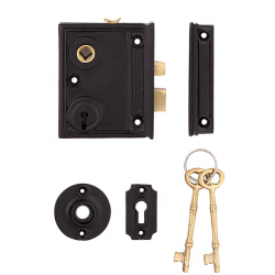 Narrow Stile Interior Rim Lock
