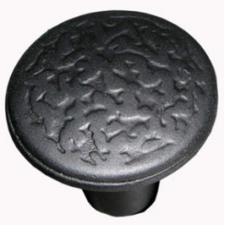 "1"" Knob Rough Iron"